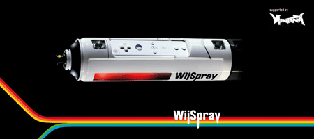 Sprühdosen-Controler Wii Spray