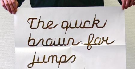 Schnürsenkelschrift Zapato Serif