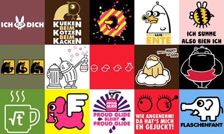 T-Shirt Motive zumspass.com
