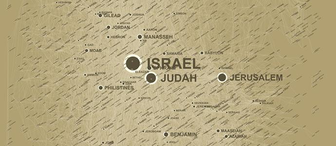 Visualisierung der sozialen Strukturen in der Bibel