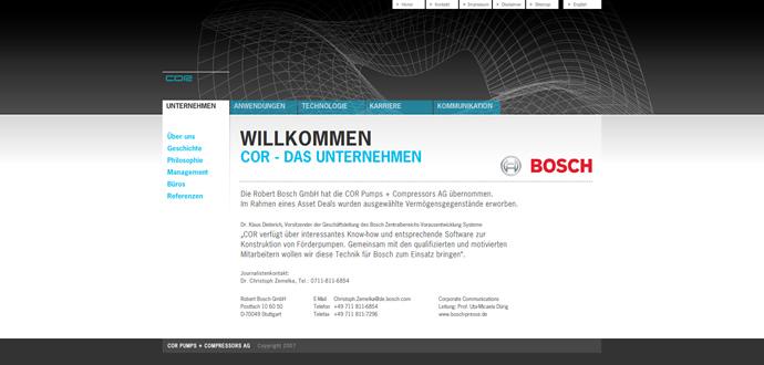 cor-webseite