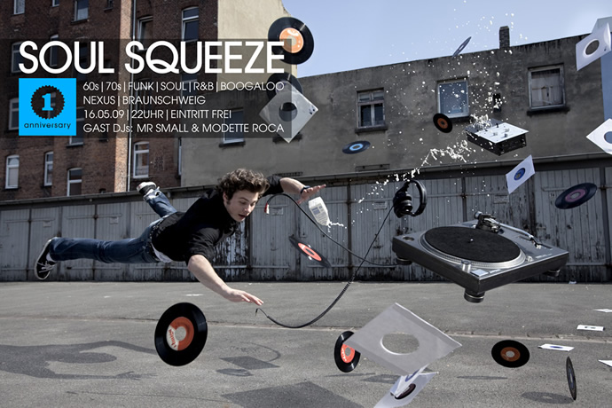 Ein toller Soul Squeeze Flyer