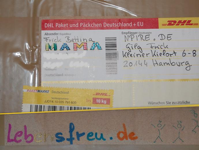 Päckchen von Mama