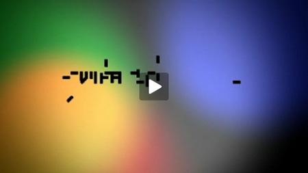 Video zur modularen Shrift Texxtura von Philipp Sackl