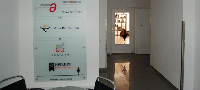 Foto vom Eingang ins NPIRE